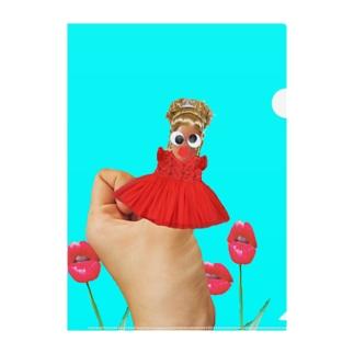 たんちゃんの親指姫👸 Clear File Folder