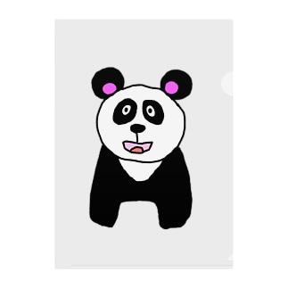 パンダのPANDA!! Clear File Folder