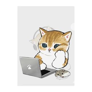 在宅勤務にゃん Clear File Folder