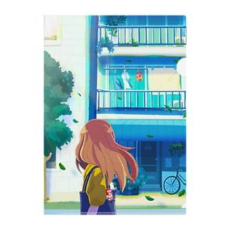 街中のヒーロー Clear File Folder