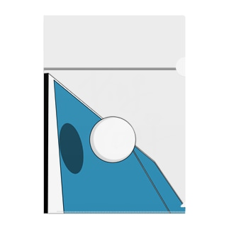 -PING PONG- Clear File Folder