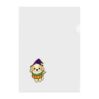 マルプーちゃん ハロウィーンスタイル! Clear File Folder