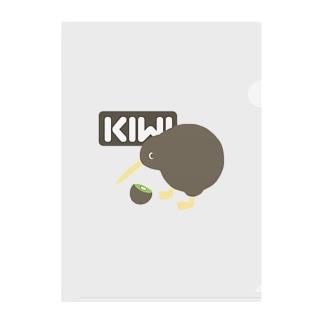 KIWI&KIWI Clear File Folder