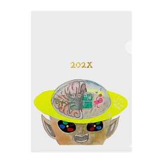【明るめ】【ちょい上め】NEW OLYMPIX『202X』 Clear File Folder