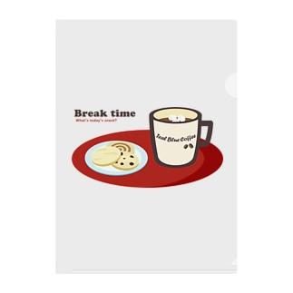 Break time Clear File Folder