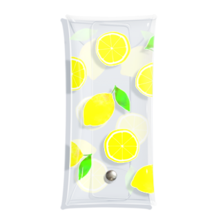 れなしやのひたすらにレモン Clear Multipurpose Case