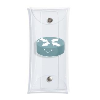 ルーターちゃん Clear Multipurpose Case