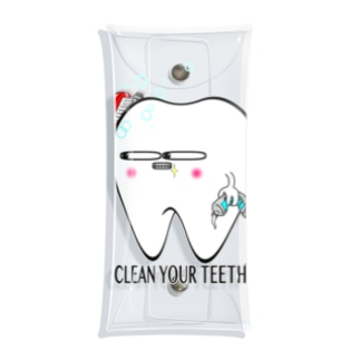 toothくん Clear Multipurpose Case