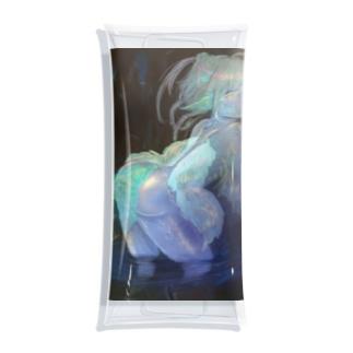 鍾乳洞の妖精 Clear Multipurpose Case