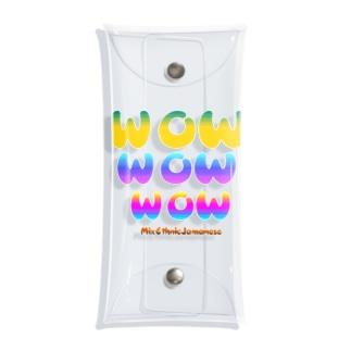 オリジナルロゴシリーズ~WOW Clear Multipurpose Case