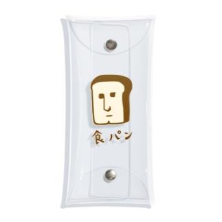 あご割れ食パンさん Clear Multipurpose Case