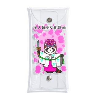Tako&Negi SUZURI支店の全人類巫女化計画 Clear Multipurpose Case