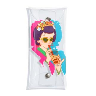 タピ姫A Clear Multipurpose Case