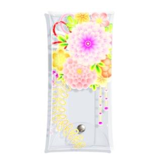 和の色彩 -wa_no_iroiro-の花かんざし01 Clear Multipurpose Case