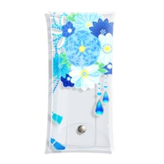 花かんざし03 Clear Multipurpose Case