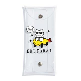 Go!エビフライ Clear Multipurpose Case