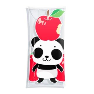 ズレてもぱんだズレぱんだちゃんのリンゴ食べたの誰?Bタイプ Clear Multipurpose Case