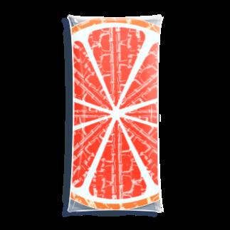 RAD_TireArt のブラッドオレンジ Clear Multipurpose Case