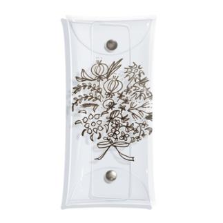 カロンの花束 Clear Multipurpose Case