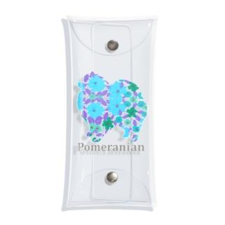 AtelierBoopの花 ポメラニアン Clear Multipurpose Case