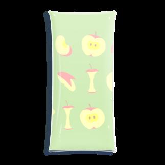ヘイヘイホーショップのりんご Clear Multipurpose Case