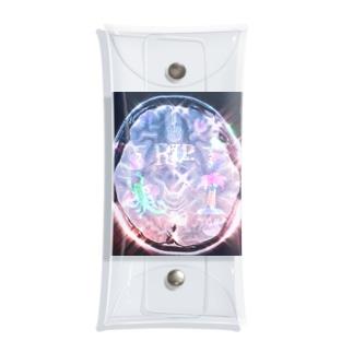 💐🔪🍈きらきら脳MRI🍈🔪💐 Clear Multipurpose Case