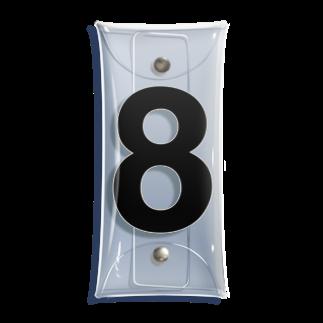 インジュンの8 - eight (Helvetica) Clear Multipurpose Case