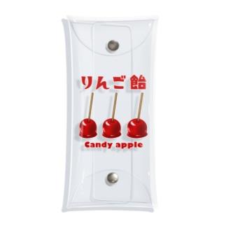 りんご飴 2 Clear Multipurpose Case