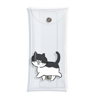 もげちゃん おさんぽ Clear Multipurpose Case