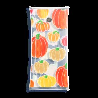 あさひの山盛りかぼちゃのケース Clear Multipurpose Case