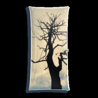 古春一生(Koharu Issey)のその樹のコト(カラー) Clear Multipurpose Case