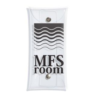 MFS room trim5(黒) Clear Multipurpose Case