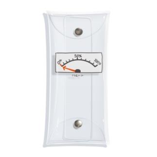 グラフィンのやる気メーター 0% おもしろT Clear Multipurpose Case