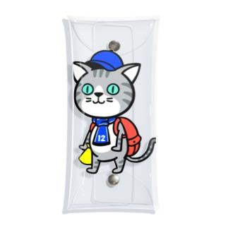 にゃんサポ Clear Multipurpose Case