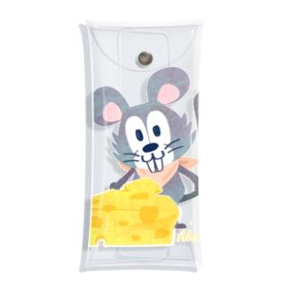 チーズはここに!いろいろA Clear Multipurpose Case