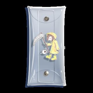 emiのしにがみちゃん Clear Multipurpose Case