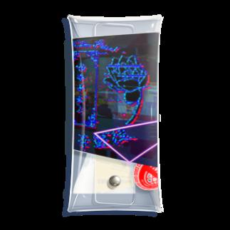 加藤亮の電電電電電電電電電脳チャイナパトローローローローローローロールルルルルルルルルルルルルルル Clear Multipurpose Case