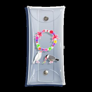 Lily bird(о´∀`о)の花冠と文鳥ず② Clear Multipurpose Case