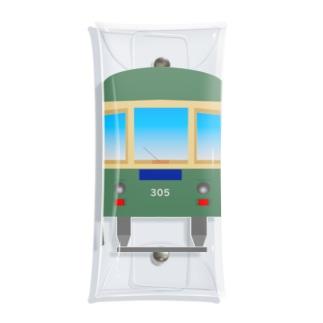 江ノ電305 Clear Multipurpose Case