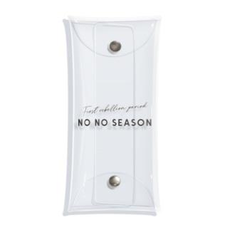 NO NO SEASON 〜イヤイヤ期〜 Clear Multipurpose Case