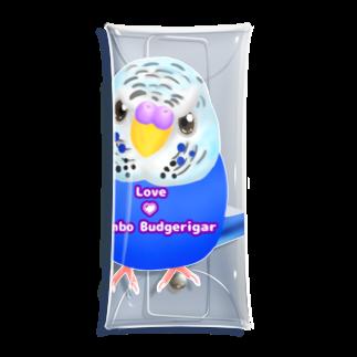 Lily bird(о´∀`о)のうるうるジャンボ ロゴ入り① Clear Multipurpose Case