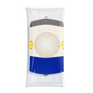 東海道0系 胸ワンポイント Clear Multipurpose Case