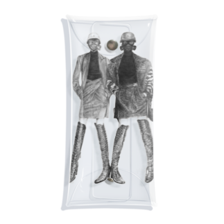 よぷーるのガスマスク Clear Multipurpose Case