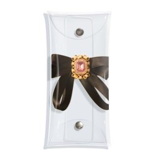 Bijoux Ribbon Clear Multipurpose Case