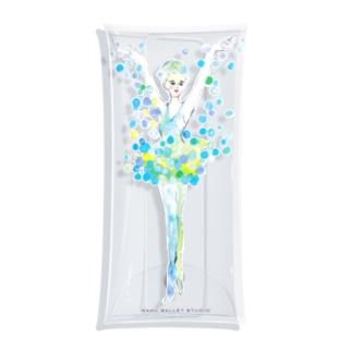 雪の精❄️ ロゴ付 Clear Multipurpose Case