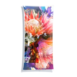 + Fete des fleurs 01《king Protea》 Clear Multipurpose Case