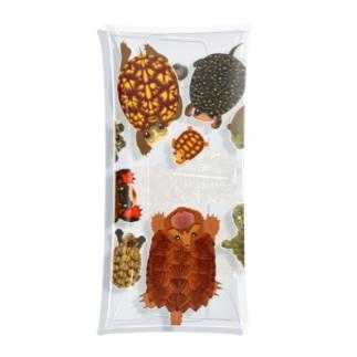 北米の亀 Clear Multipurpose Case