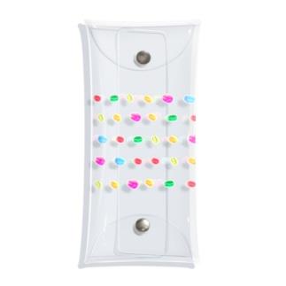 【コーヒー豆】キャンディービーンズ Clear Multipurpose Case
