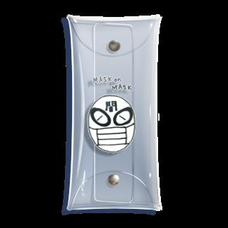 燈廻屋のマスクonマスク Clear Multipurpose Case