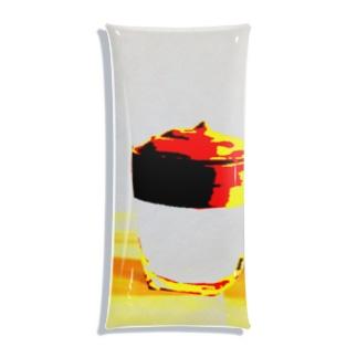 ダルゴナコーヒー Clear Multipurpose Case